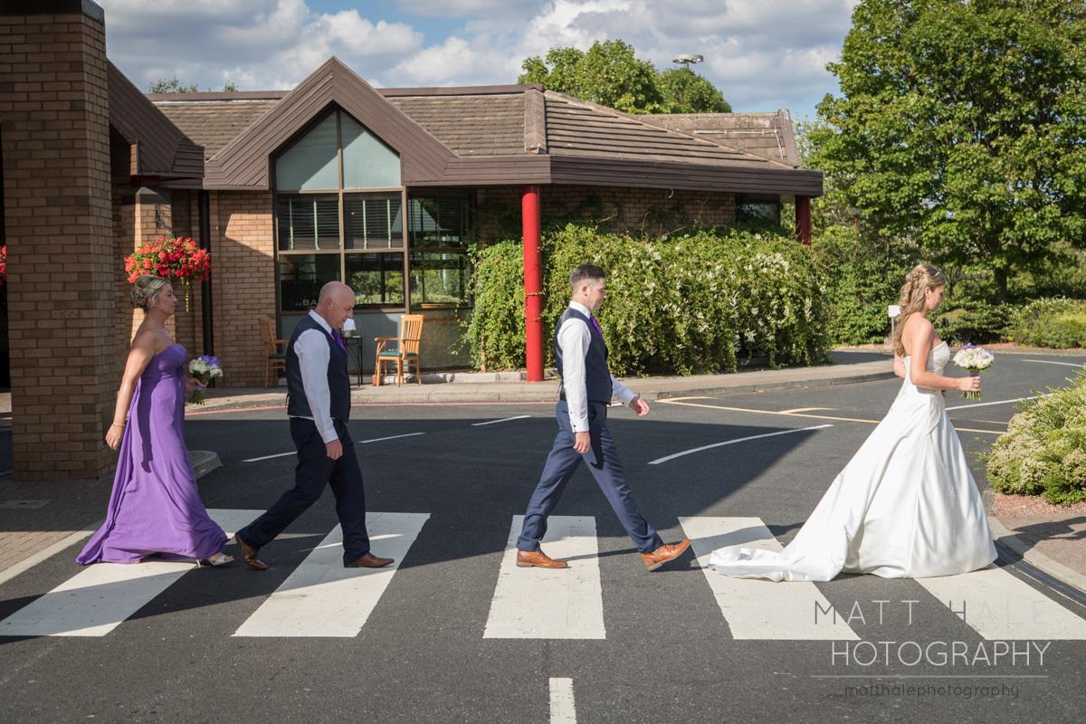 Marriott Wedding Beatles Crossing